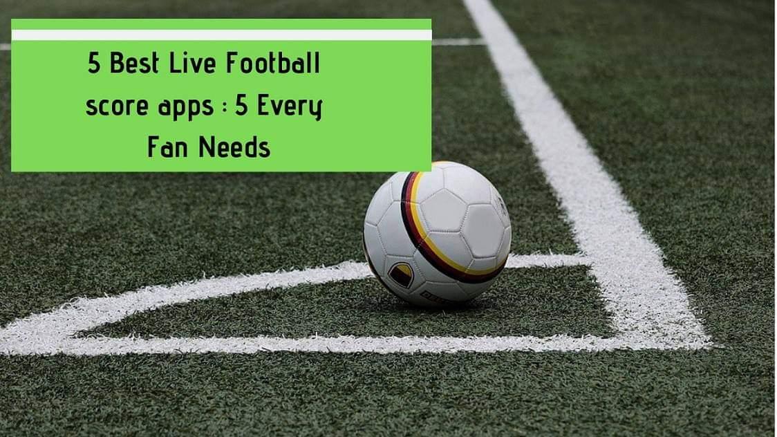 football scores app