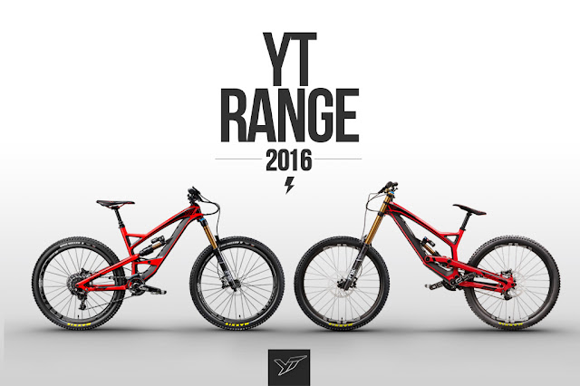 31e679f5a YT Industries 2016 bicicleta Range  ano novo