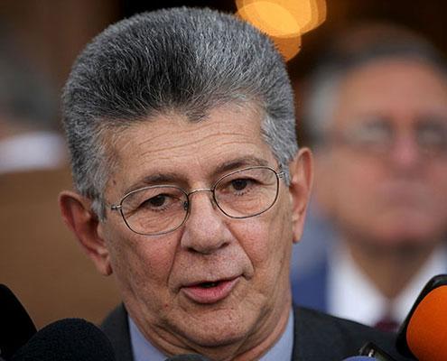 Ramos Allup: Inaceptable que transmisión de reuniones de diálogo sean exclusividad de medios públicos