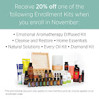 20% Off Enrollment Kits in November
