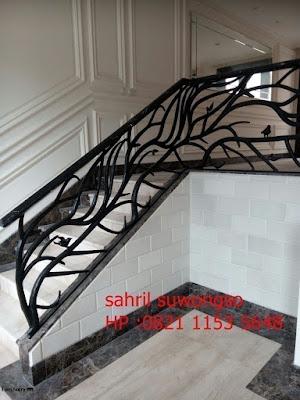 railing tempa untuk rumah klasik