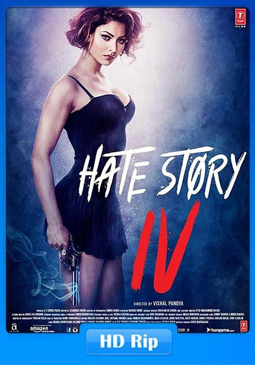 Hate Story 4 2018 720p Hindi HDRip x264 | 480p 400MB | 200MB HEVC Poster