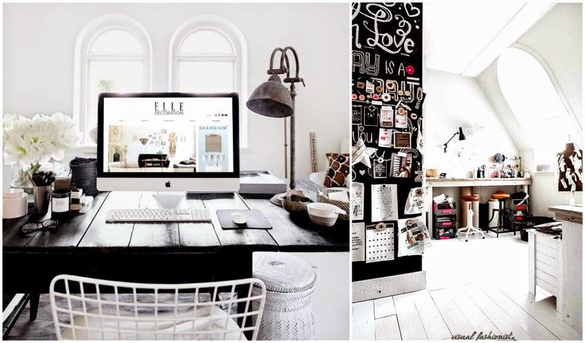 Visual fashionist arredare un piccolo studio in casa for Arredare casa idee e consigli