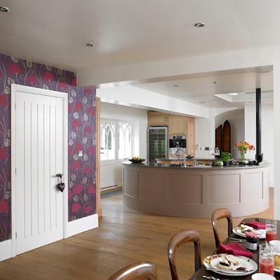 Modelos y dise os de cocinas abiertas cocina y muebles for Cocinas abiertas al jardin