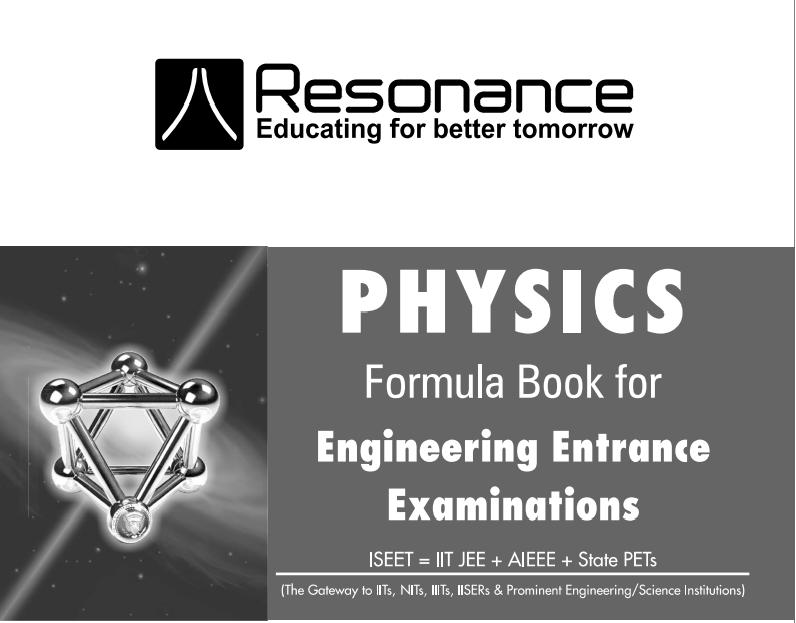 Physics formulas for iit jee pdf free