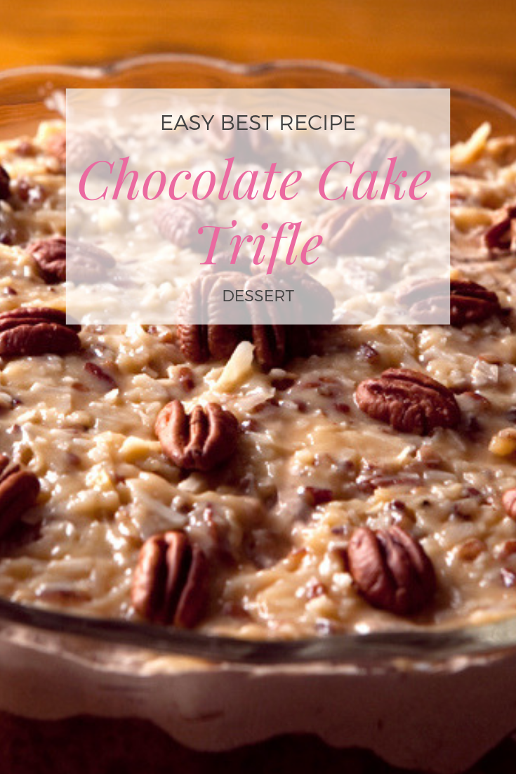 #Easy Best #Recipe of #Chocolate #Cake #Trifle
