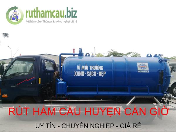 Dịch vụ rút hầm cầu tại huyện Cần Giờ giá rẻ uy tín ĐT: 0904.555.023
