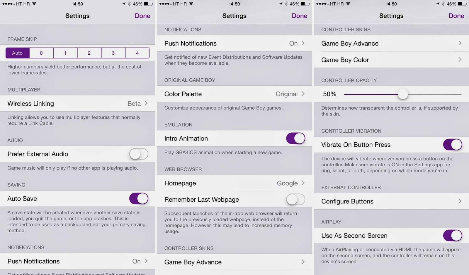 GBA4iOS 2 1 now available, no jailbreak required, hitting