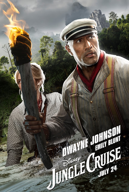 Jungle Cruise Official Trailer 2, Dwayne Johnson, Emily Blunt, Walt Disney Studios