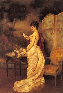 Auguste Toulmouche (1829-1890)- Любовное письмо