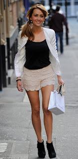 Coronation Street Samia Ghadie Lipsy Pale Nude Pink