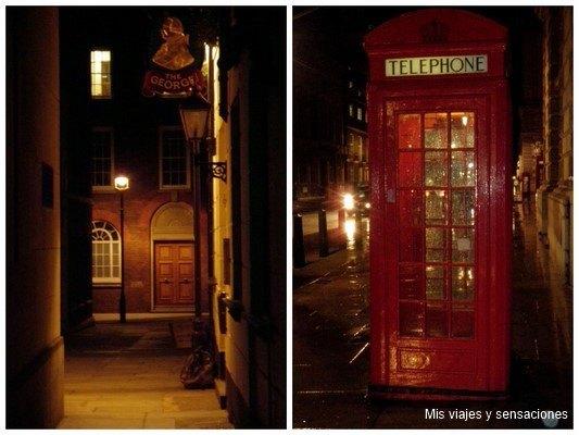 Viajar a Londres en navidad