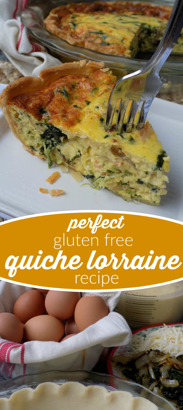 One savvy mom nyc area mom blog the perfect gluten free the perfect gluten free quiche lorraine recipe forumfinder Image collections