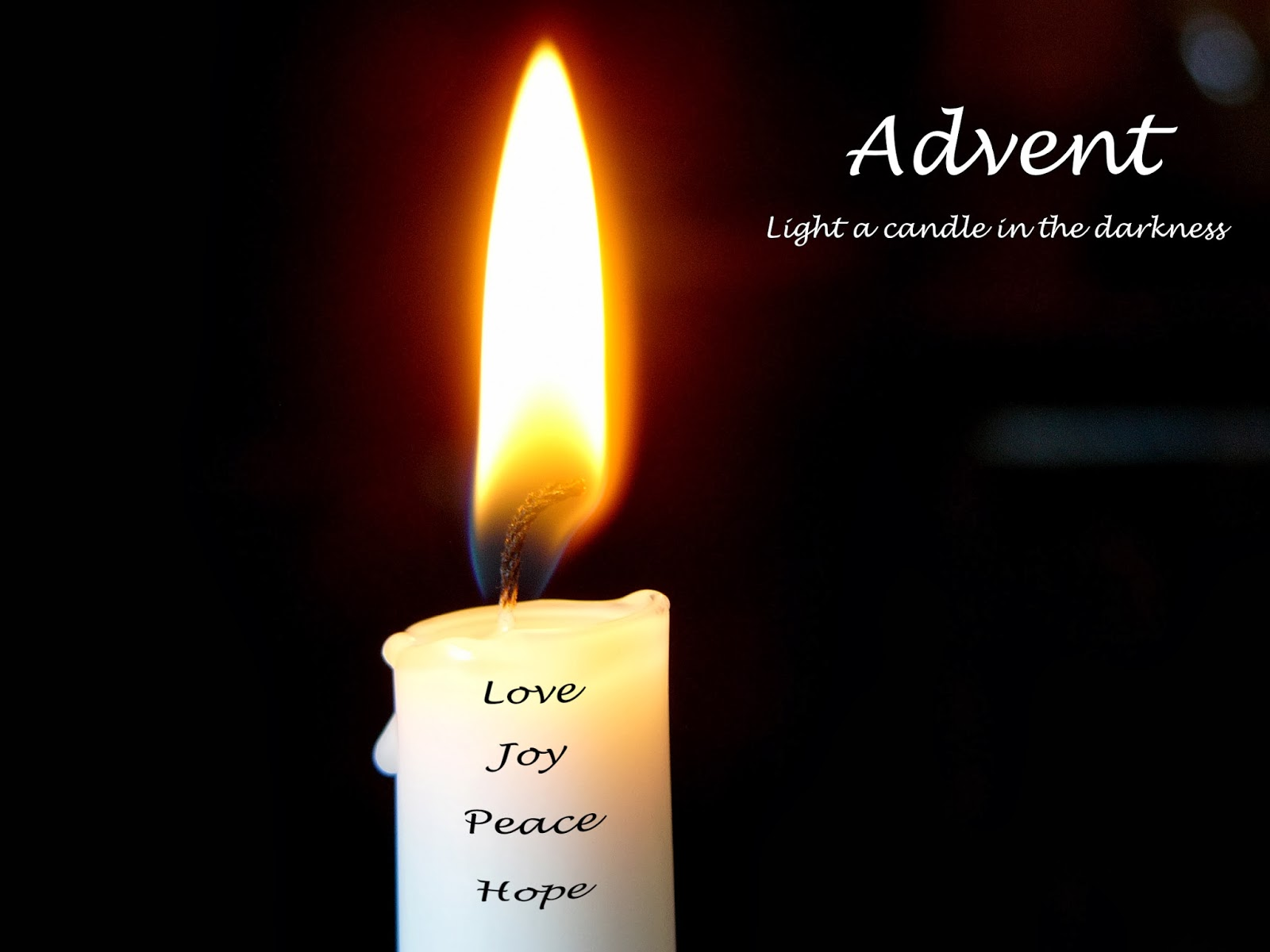 a pilgrim's process: People get ready... a sermon for ... One Advent Candle