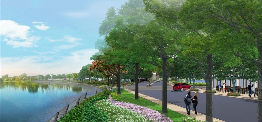 hồ sinh thái dự án Lakeview City