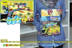 Sprei Fata 2in1 Duo New Spongebob Single 120×200 1 Sarung Bantal 1 Sarung Guling Kuning Kartun Anak Remaja Katun