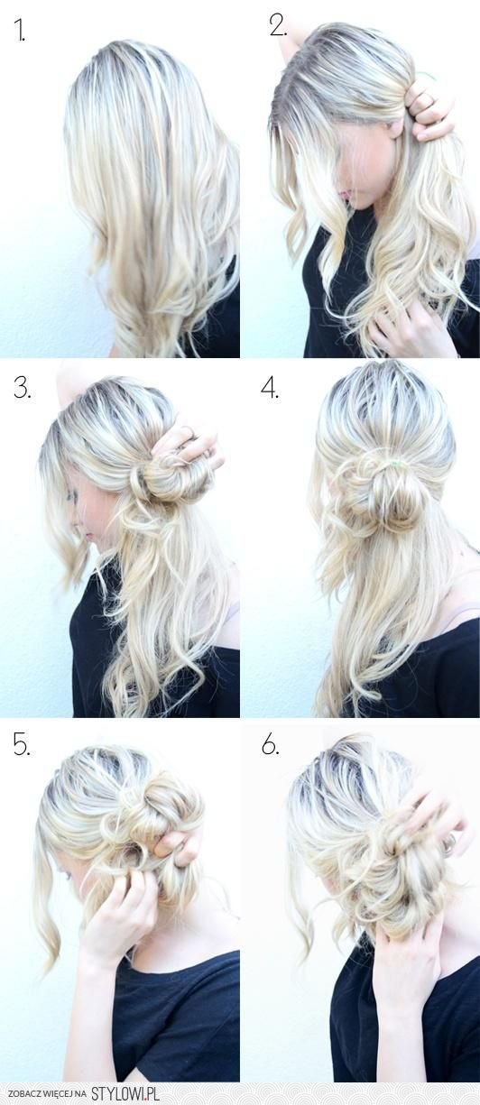 Five Hairstyle tutorials ideas