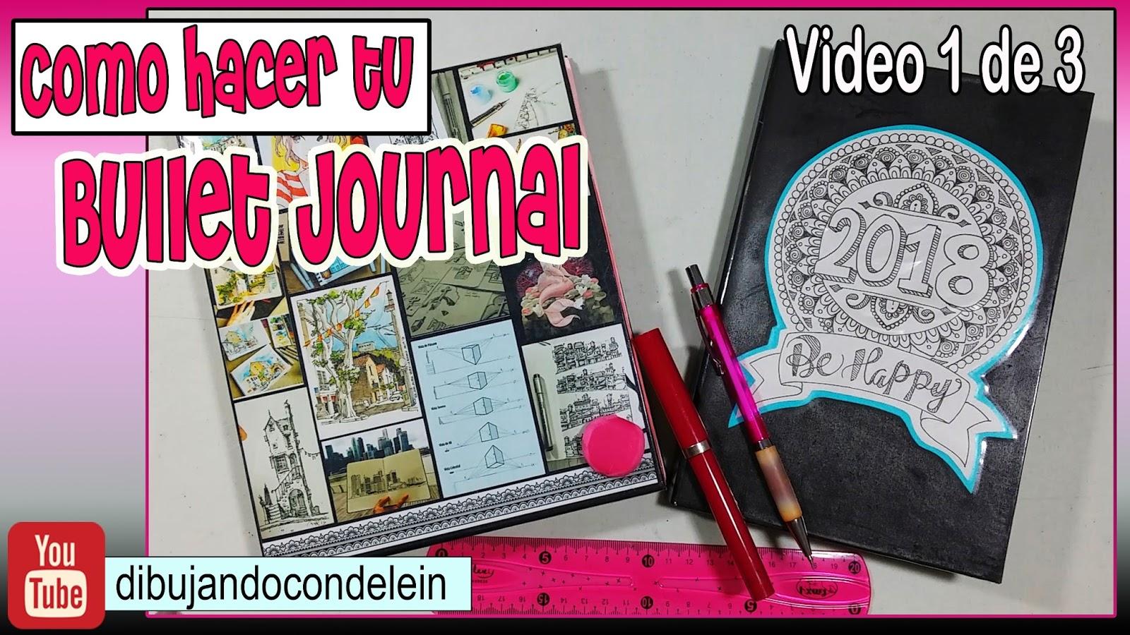 C mo hacer una libreta para bullet journal parte 1 de 3 for Lista de materiales de cocina