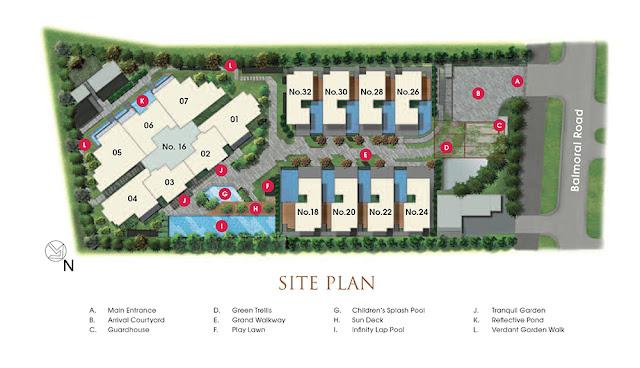 Goodwood Grand Siteplan