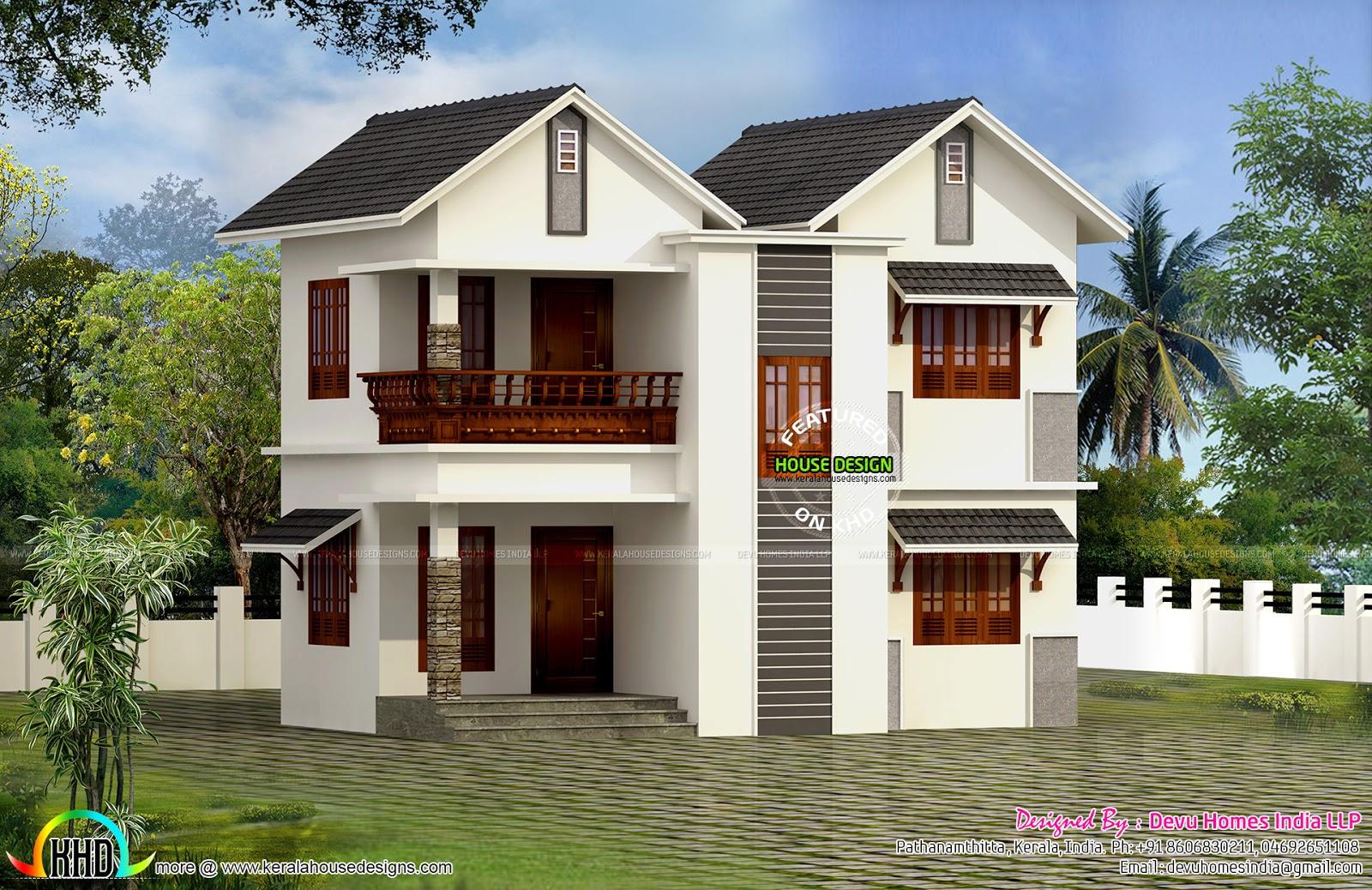 Vastu facing West home plan
