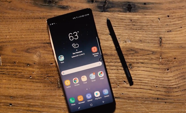 Samsung will announce the Galaxy Note 9 in August