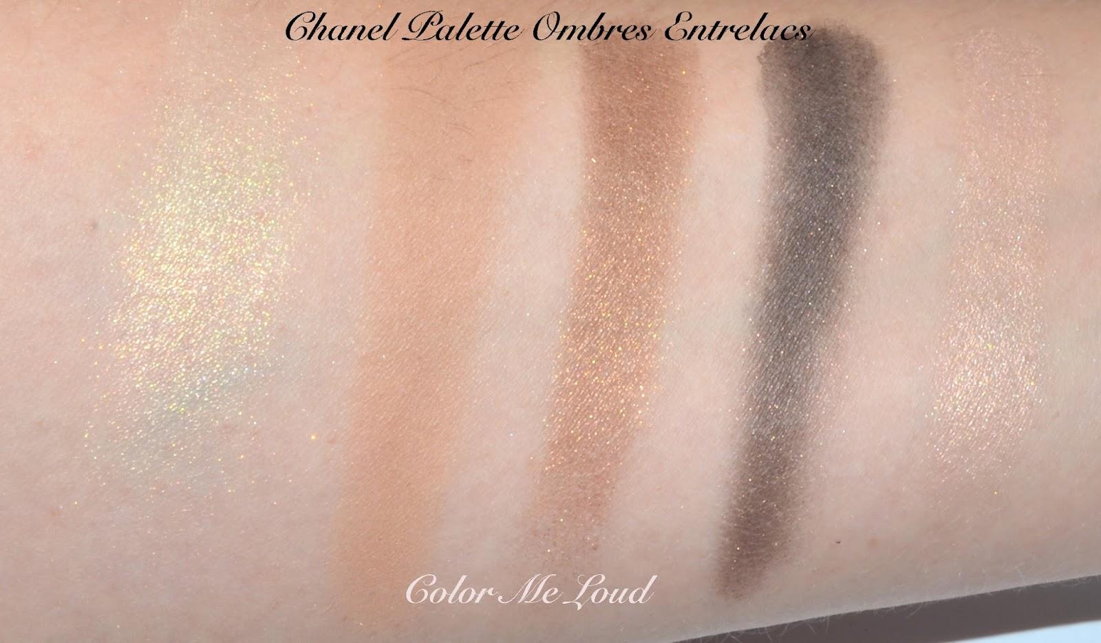 da62efc95eb Chanel Eyeshadow Palette in Entrelacs   Chanel Joues Contraste  260 ...