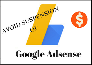 Google Adsense suspended reasons