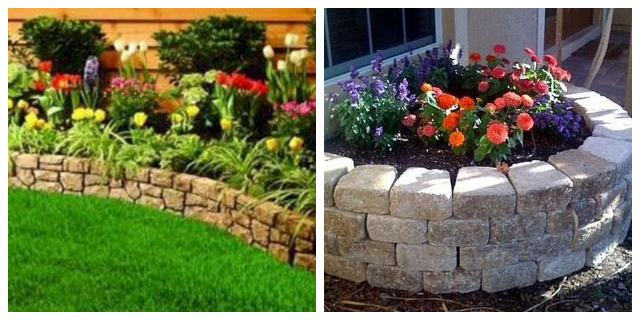 GARDEN PROJECTS WITH STONE & ROCKS