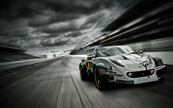 Wallpaper: Lotus Elise 340R Race Car