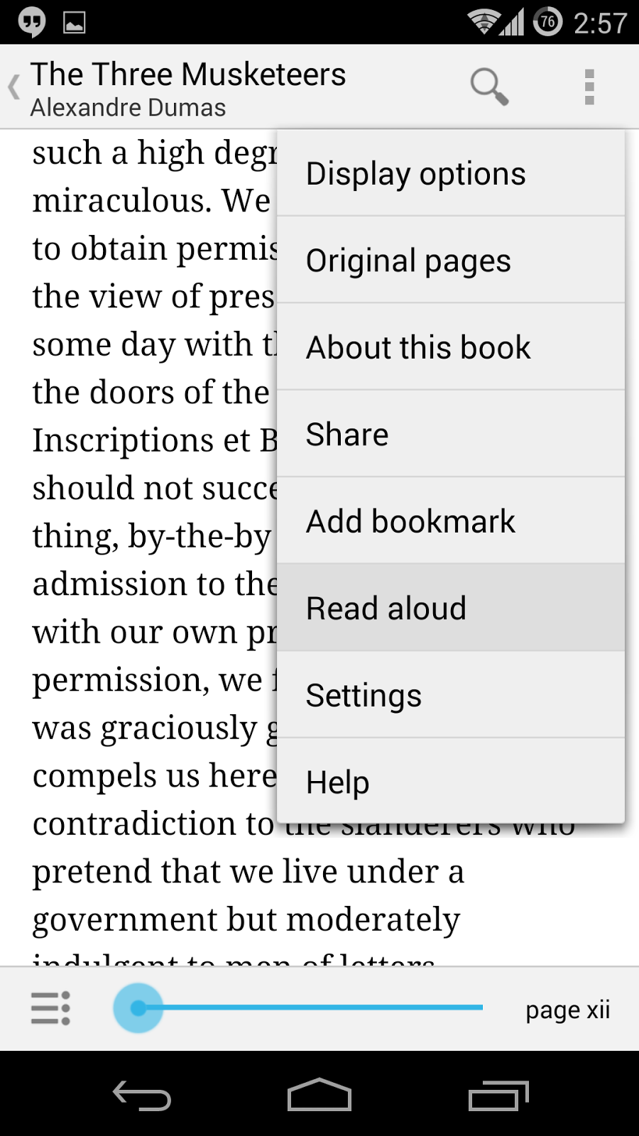 Changing the Voice of Google Books ~ Android Coliseum