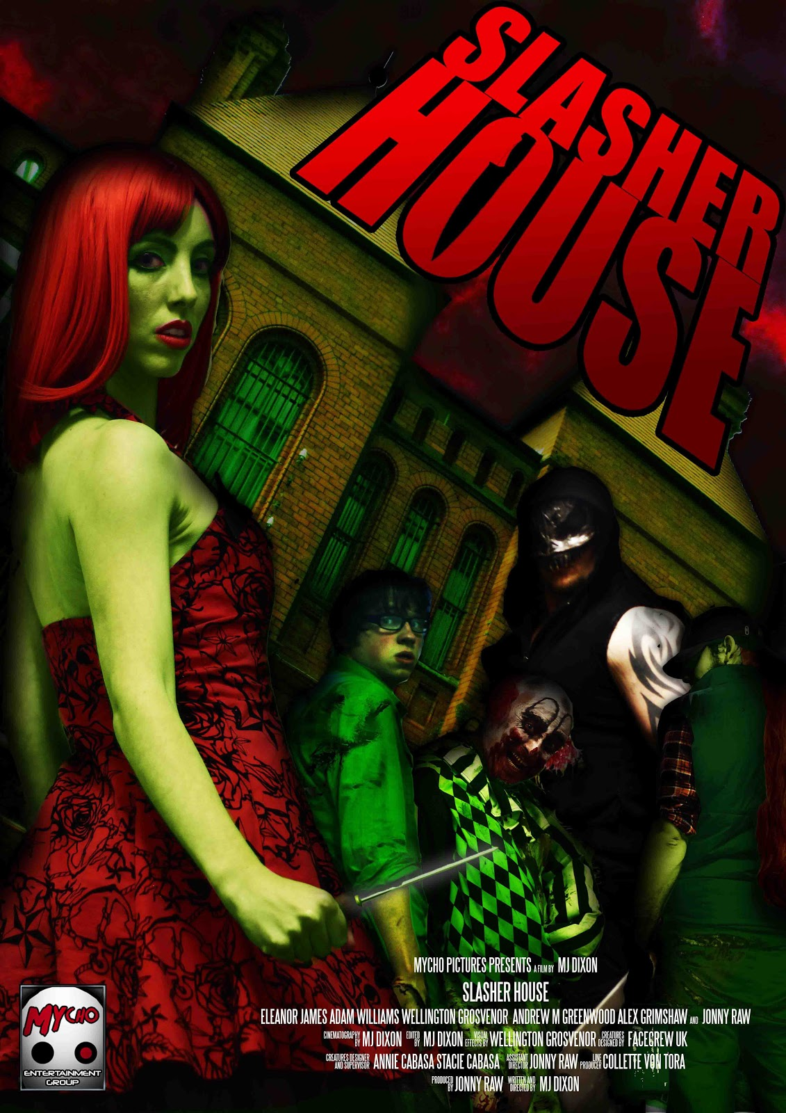 Watch Eleanor James Slasher House - 2012 video