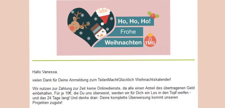 gemeinnütziger Verein Ehrenfeld, regional Spenden, DIY Adventskalender, besonderer Weihnachtskalender, teilen macht glücklich, TeilenMachtGlücklich, Glücksbringer, FrühstückMachtGlücklich, mittwochs mag ich, Spendenprojekte