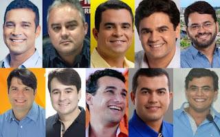 TOP 10 dos políticos mais belos da Paraíba inclui prefeitos e vice da região