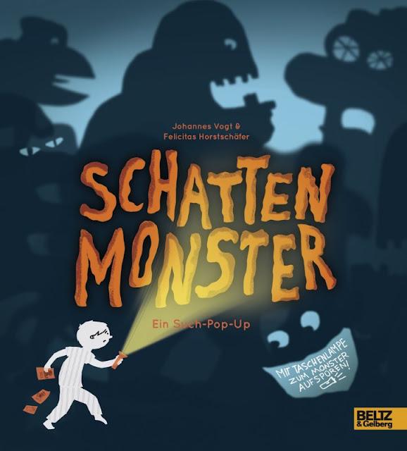 Schattenmonster Pop-Up Buch Beltz Johannes Vogt Felicitas Horstschäfer Kinderbuch Kinderbücher Monster
