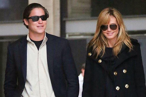 Romance: Heidi Klum and Vito Schnabel in France