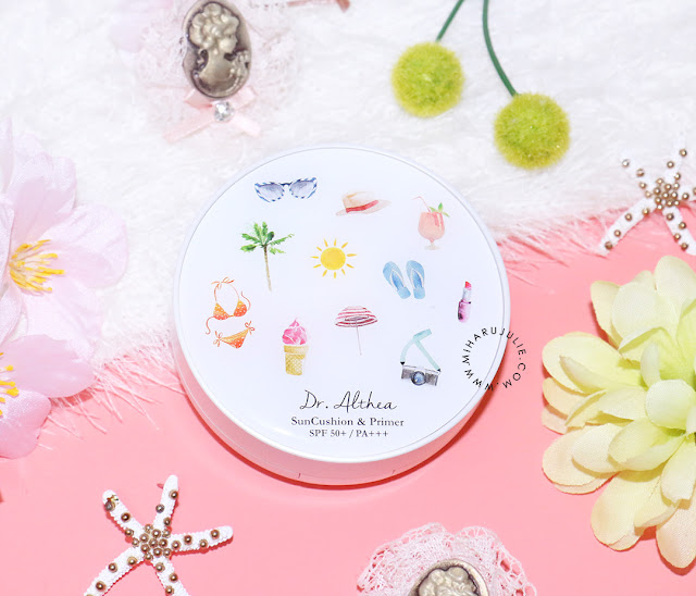 Dr.Althea Sun Cushion & Primer review