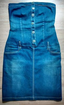 vestido jeans Opera Rock tam 42