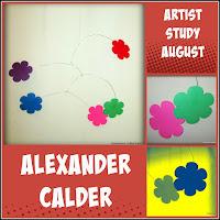 Artist Study - Alexander Calder on the Virtual Refrigerator, an art link-up hosted by Homeschool Coffee Break @ kympossibleblog.blogspot.com #virtualfridge