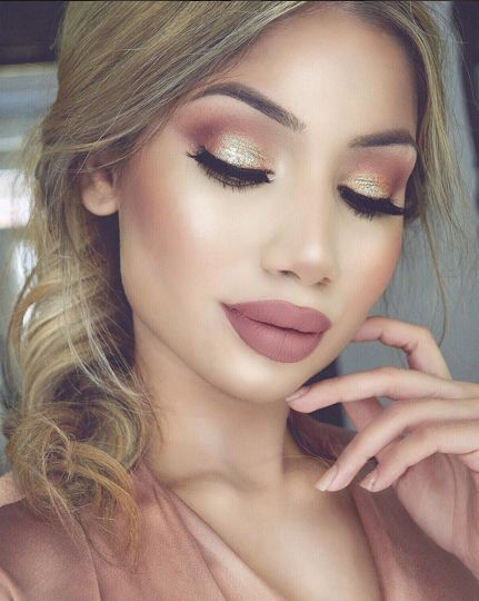 daily gold makeup ideas