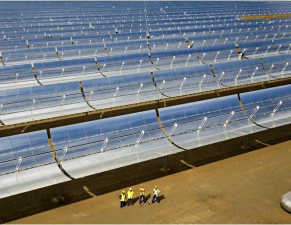 المحطات الشمسية الحرارية لتوليد الكهرباء Solar Thermal Power Plant