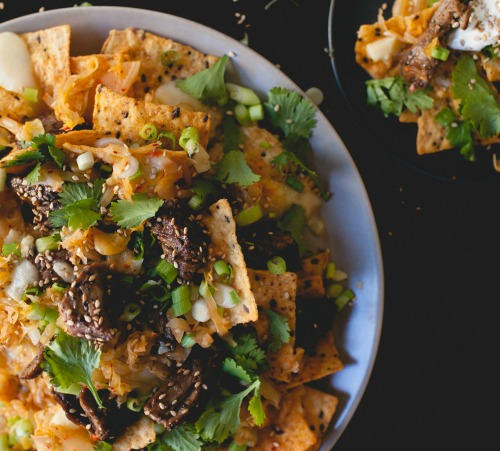 Kimchee Nachos via coco & kelley