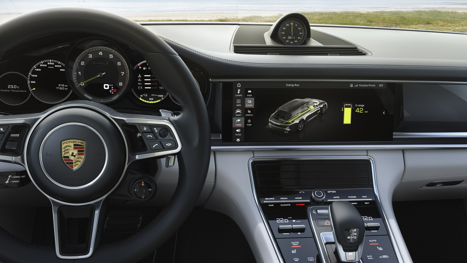 Porsche Panamera Turbo S E Hybrid Sport Turismo Unveiled
