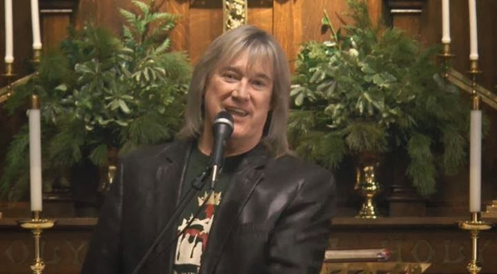 John Schlitt - The Christmas Project 2013 singing live in a church