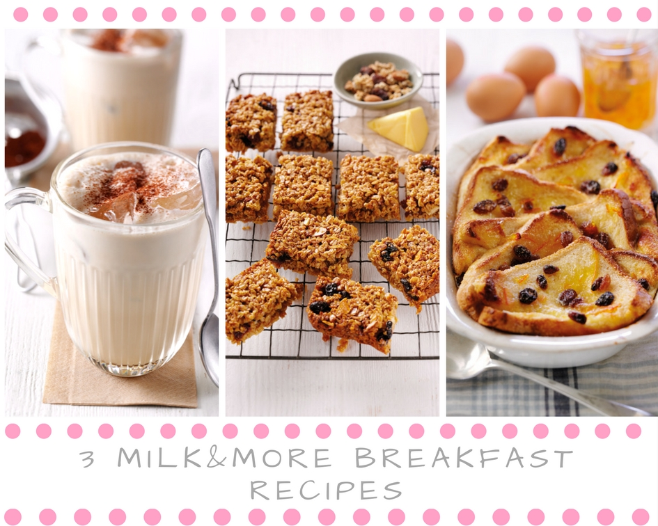 Start The Day The Organic Way: 3 milk&more Breakfast Recipes