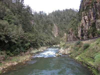 Garganta Karangahake y río Waitawheta, Nueva Zelanda