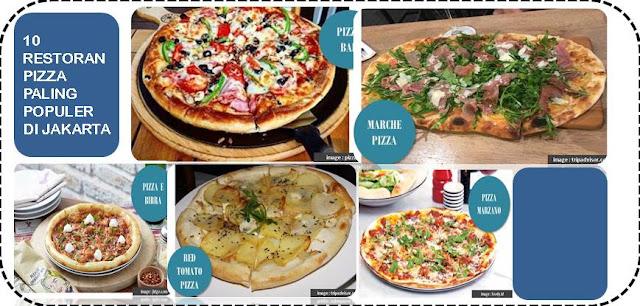 10 Restoran Pizza Paling Populer di Jakarta - Blog Mas Hendra