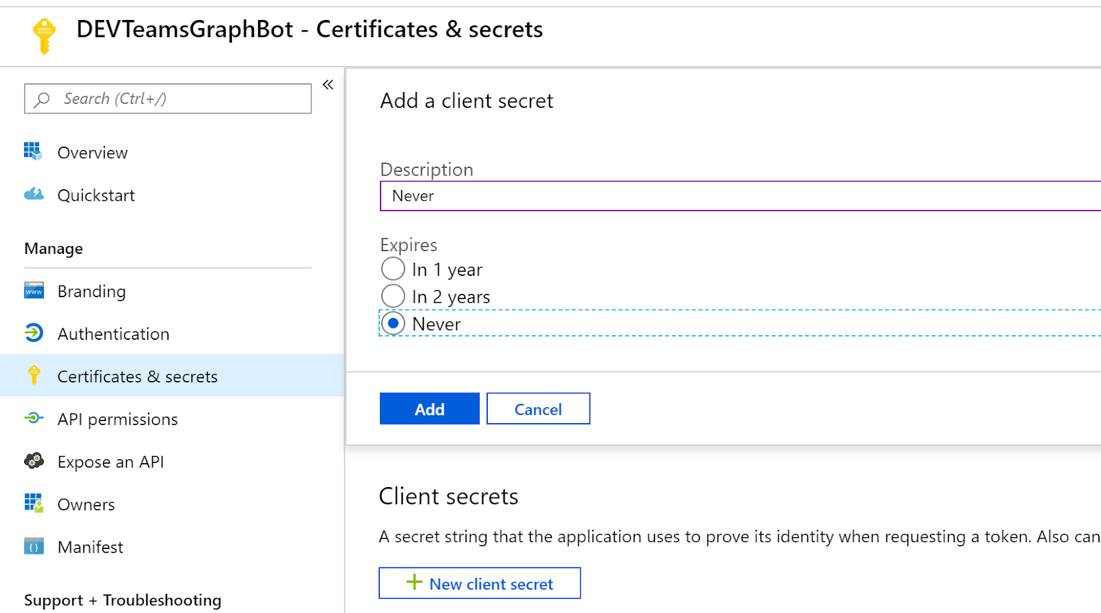 Tricky SharePoint: Step by Step: Configure Bot to Work in
