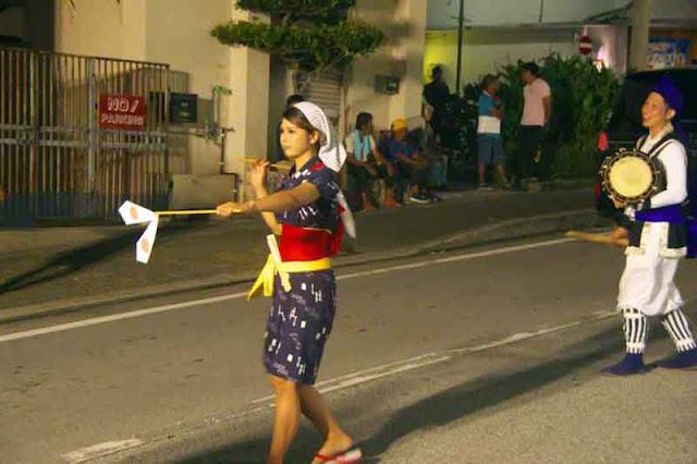 culture, dance, Eisa, Obon, Okinawa