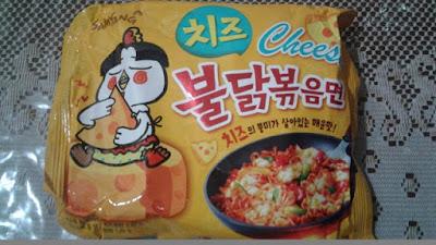 Samyang Cheese & Bul Nak