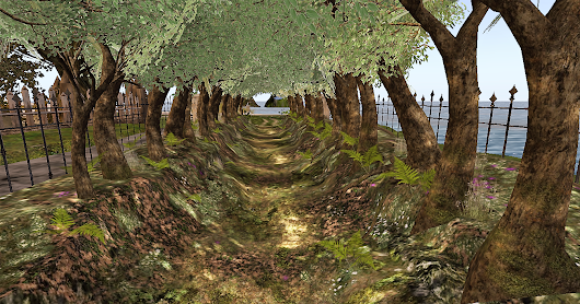 Travelling around Second Life